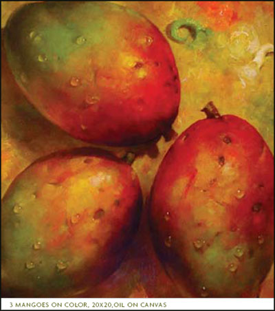 3 Mangoes, by Richard Currier