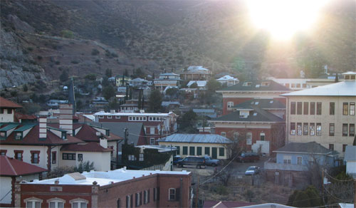 the town of bisbee