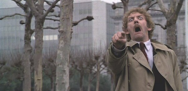 Donald Sutherland is on to you