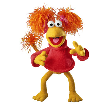 Ana Matronic as Red Fraggle?