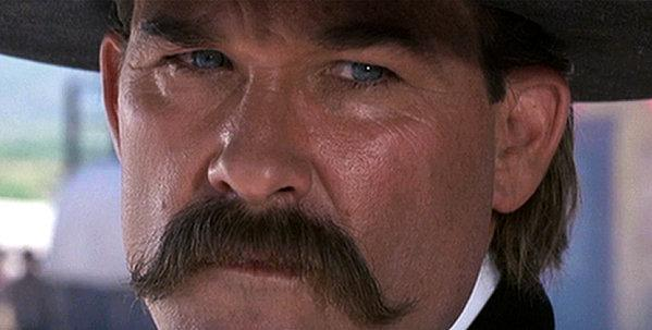 "Kurt Russel's awesome 'stache in ""Tombstone."""