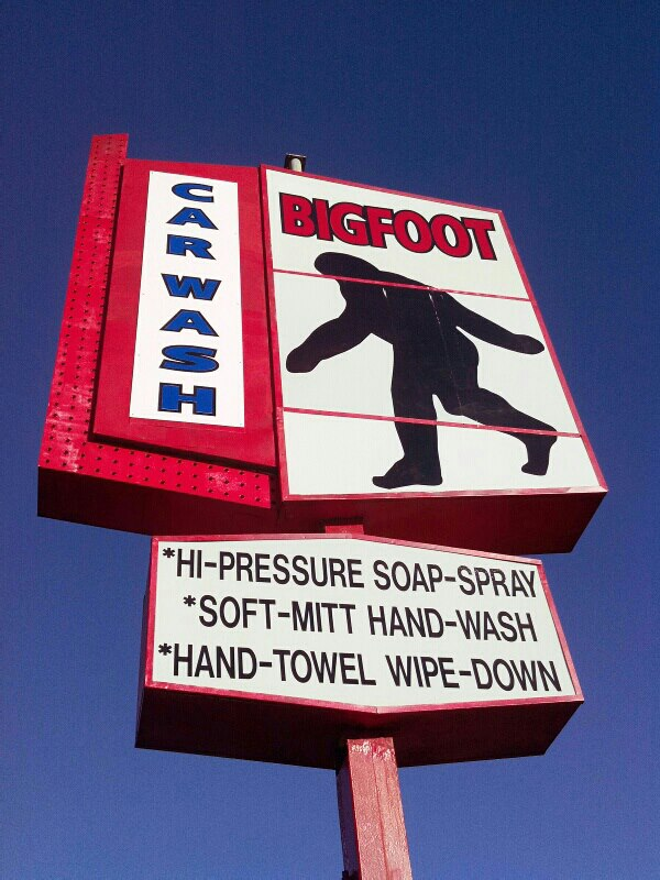 Bigfoot Car Wash